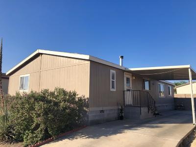 Pima County Manufactured Home Active Contingent: 2972 E Acacia Club Lane