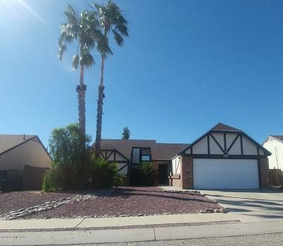 Pima County Single Family Home For Sale: 4430 W Rockwood Drive