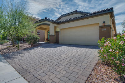 Marana Single Family Home Active Contingent: 9009 W Hidden Saguaro Trail