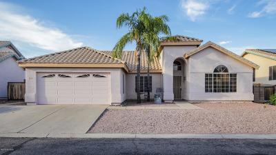 Tucson Single Family Home For Sale: 1442 W Sunridge Drive