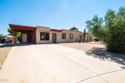 Pima County, Pinal County Townhouse Active Contingent: 7251 E Bellingham Drive
