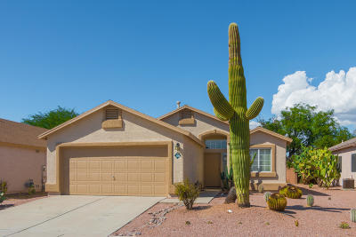 Pima County Single Family Home Active Contingent: 3688 W Sundial Place