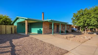 Pima County, Pinal County Single Family Home Active Contingent: 8541 E Desert Aire Street