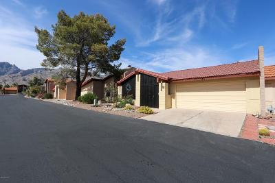 Tucson Townhouse Active Contingent: 5716 N Camino De Las Estrellas