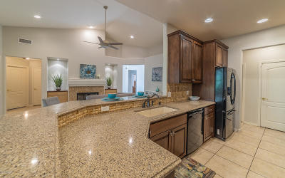 Tucson Single Family Home Active Contingent: 7537 E Camino Amistoso