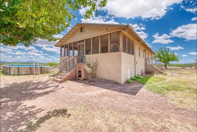 Cochise County Single Family Home For Sale: 4833 W Duke W/10 Ac Road