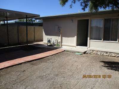 Pima County Townhouse For Sale: 4065 S Queen Palm Drive