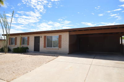 Pima County, Pinal County Single Family Home Active Contingent: 2101 S Tree Moss Avenue