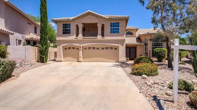 Oro Valley Single Family Home Active Contingent: 1825 W Wimbledon Way