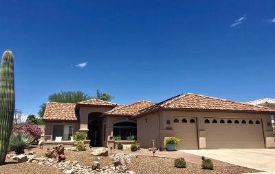 Saddlebrooke Single Family Home For Sale: 37318 S Vista Park Drive