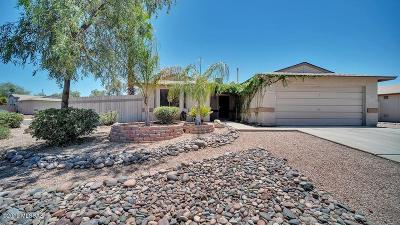 Pima County Single Family Home Active Contingent: 2601 W Flamebrook Road
