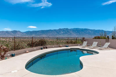 Tucson Single Family Home Active Contingent: 39595 S Mountain Shadow Drive