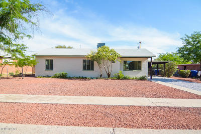 Pima County Single Family Home Active Contingent: 4434 E 17th Street
