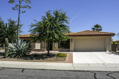 Oro Valley Single Family Home Active Contingent: 983 E Boulder Pass