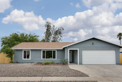 Tucson Single Family Home Active Contingent: 1267 S Lynx Drive