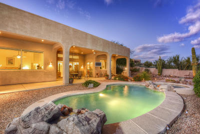 Oro Valley Single Family Home For Sale: 487 W Coyote Moon Place
