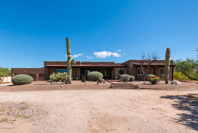 Tucson Single Family Home Active Contingent: 2547 N Placita De La Lantana