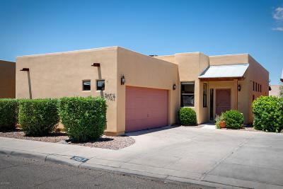Pima County Townhouse For Sale: 3157 N Avenida Laurel Real
