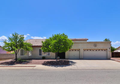 Single Family Home Active Contingent: 7402 S Olinga Avenue