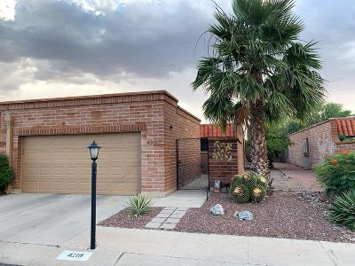 Pima County Townhouse Active Contingent: 4219 N Limberlost Place