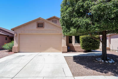 Pima County Single Family Home For Sale: 4408 E Mesquite Desert Trail
