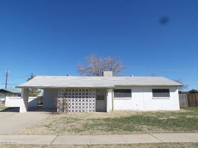 Cochise County Single Family Home For Sale: 309 S Casas Lindas Drive