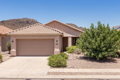 Tucson Single Family Home For Sale: 7976 W Cottonwood Wash Way