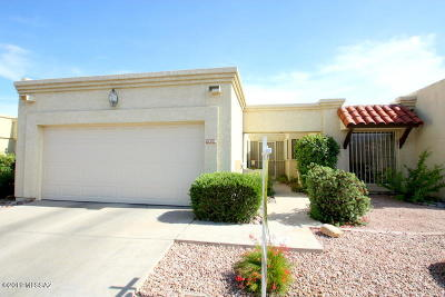 Pima County Townhouse For Sale: 7230 E Rosslare Drive