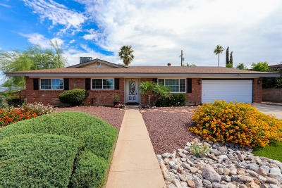 Pima County, Pinal County Single Family Home Active Contingent: 8711 E Baker Street