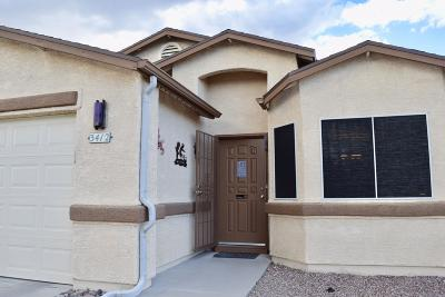 Pima County Single Family Home Active Contingent: 3412 W Courtney Crossing Lane