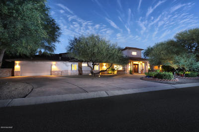 Tucson Single Family Home Active Contingent: 6115 E San Mateo
