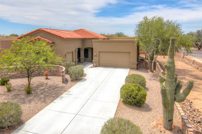 Tucson Single Family Home For Sale: 2587 W Overton Ridge Place