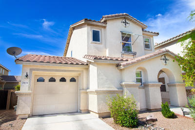 Pima County, Pinal County Single Family Home Active Contingent: 7644 E Saguaro Overlook Drive