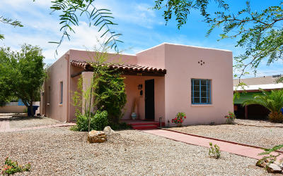 Pima County Single Family Home For Sale: 1910 E 9th Street