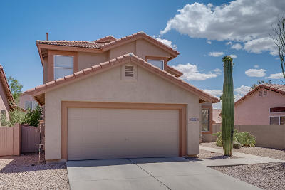 Pima County Single Family Home Active Contingent: 3017 W Sun Ranch Trail