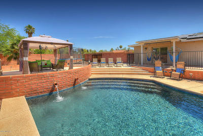 Pima County Single Family Home Active Contingent: 8011 N Padova Place