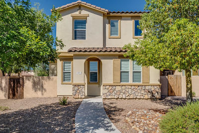 Pima County Single Family Home Active Contingent: 63 W Paseo Celestial