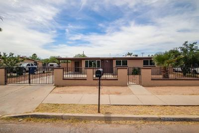 Pima County Single Family Home For Sale: 761 W Utah Street