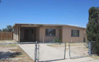 Pima County Single Family Home For Sale: 408 W Calle Alvord