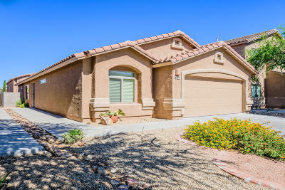 Tucson Single Family Home Active Contingent: 8432 S Egyptian Drive