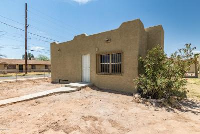 Pima County Single Family Home For Sale: 301 W Veterans Boulevard