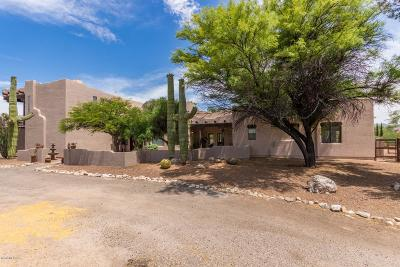Tucson Single Family Home Active Contingent: 12060 E Saguaro Sunrise Drive