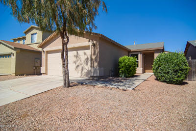 Pima County Single Family Home For Sale: 6275 S Sun View Way