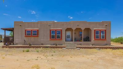 Tucson Single Family Home Active Contingent: 6290 S Valencia Ranch Road
