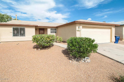 Pima County Single Family Home For Sale: 4279 S Goodall Place