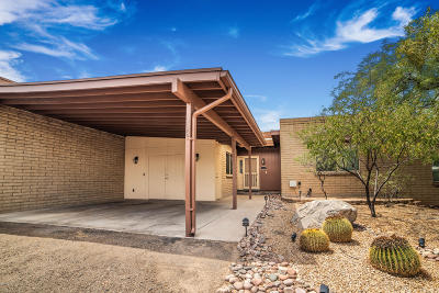 Pima County Townhouse For Sale: 118 E Cholla Shadows Drive
