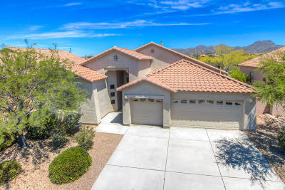 Marana Single Family Home Active Contingent: 5124 W New Shadow Way