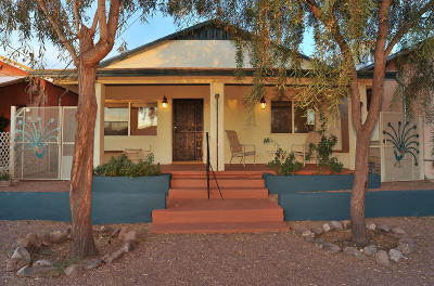 Tucson Single Family Home For Sale: 1011 S 8th Street