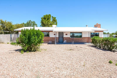 Tucson Single Family Home For Sale: 2026 W Spring Street