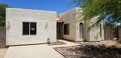 Tucson AZ Single Family Home For Sale: $164,000